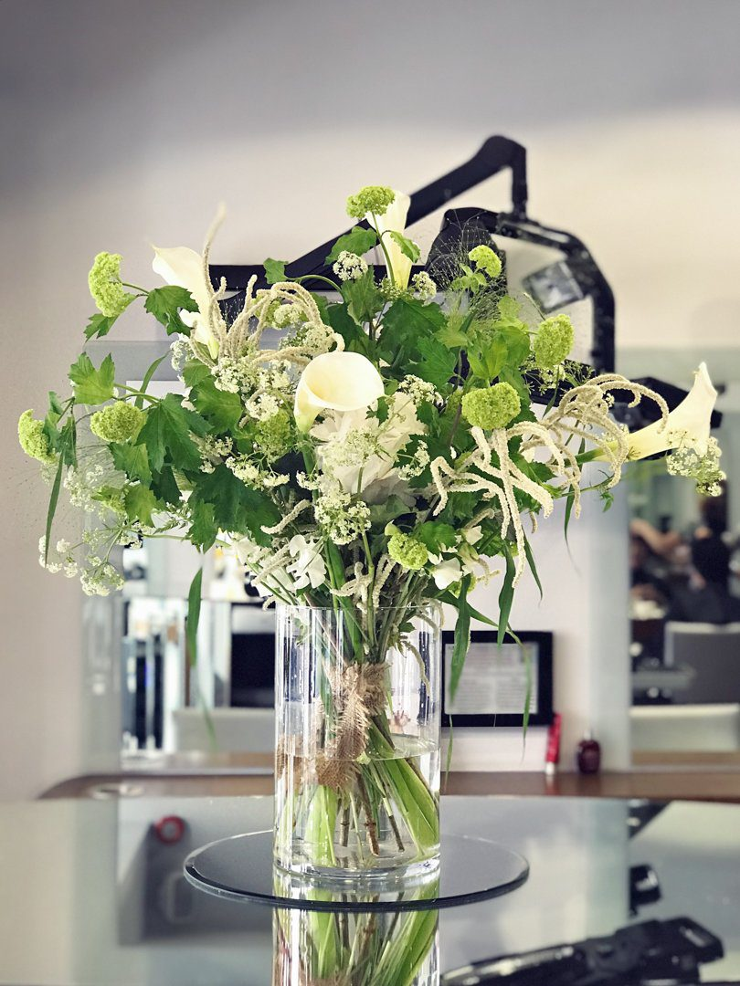 Corporate Rebecca Marsala Flowers