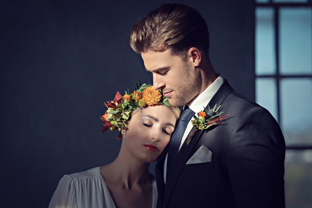 Weddings Rebecca Marsala Flowers